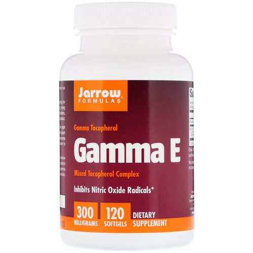 Jarrow Formulas, Gamma E, 300 mg, 120 Softgels Review