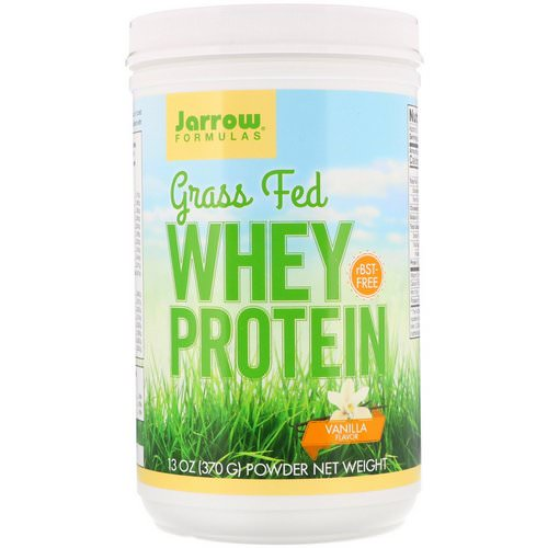 Jarrow Formulas, Grass Fed Whey Protein, Vanilla Flavor, 13 oz (370 g) Review