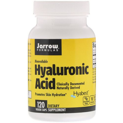 Jarrow Formulas, Hyaluronic Acid, 50 mg, 120 Veggie Caps Review