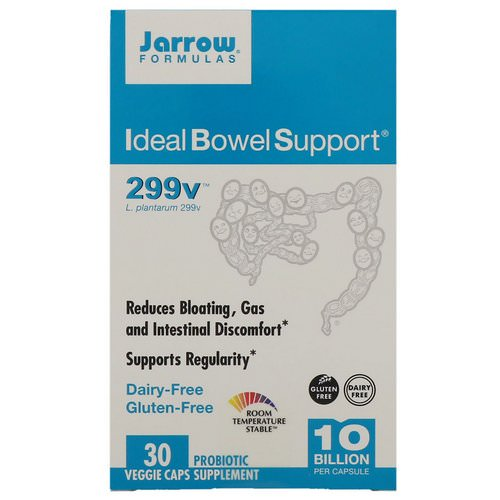 Jarrow Formulas, Ideal Bowel Support, 299v, 30 Veggie Caps Review