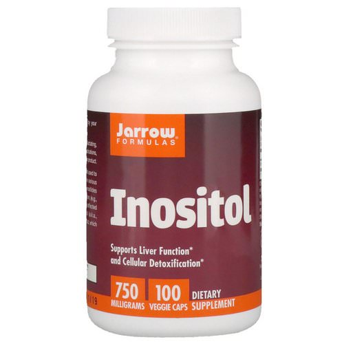 Jarrow Formulas, Inositol, 750 mg, 100 Veggie Caps Review