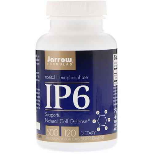 Jarrow Formulas, IP6, Inositol Hexaphosphate, 500 mg, 120 Veggie Caps Review