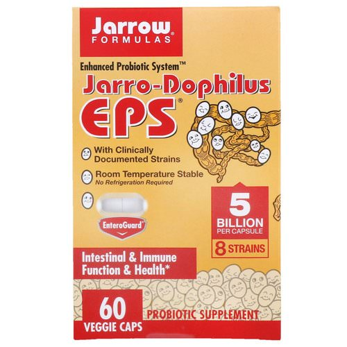 Jarrow Formulas, Jarro-Dophilus EPS, 5 Billion, 60 Veggie Caps Review