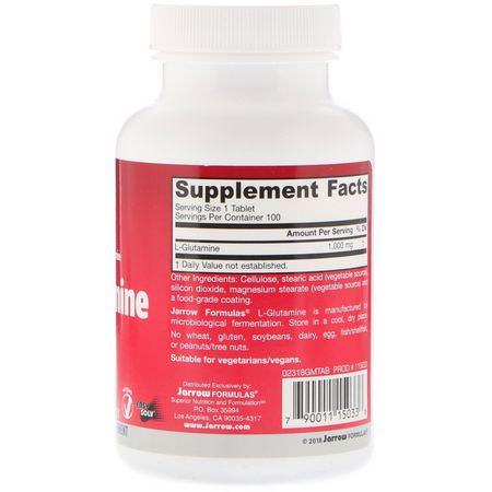 L-Glutamine, Amino Acids, Supplements