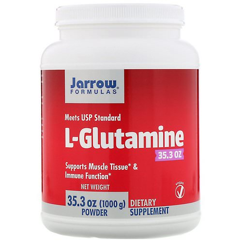 Jarrow Formulas, L-Glutamine Powder, 35.3 oz (1000 g) Review