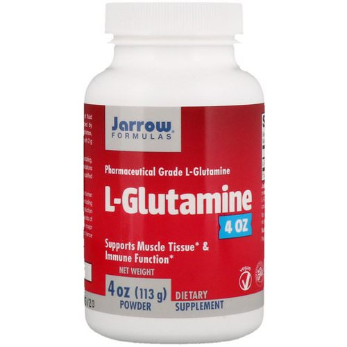 Jarrow Formulas, L-Glutamine, Powder, 4 oz (113 g) Review