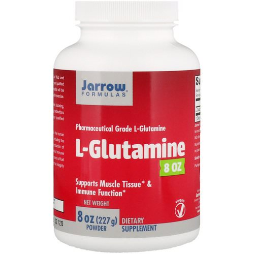 Jarrow Formulas, L-Glutamine, Powder, 8 oz (227 g) Review