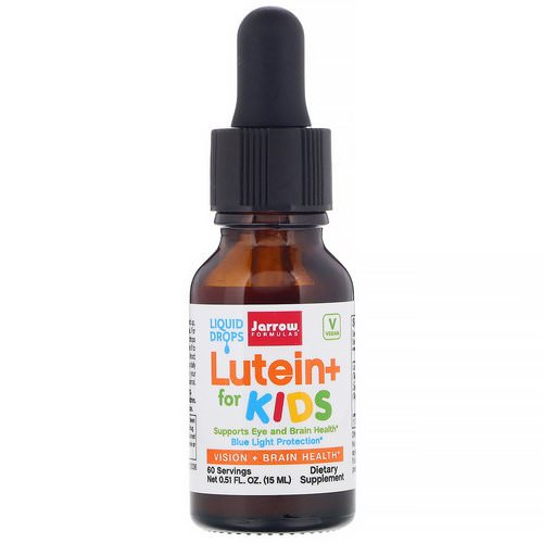Jarrow Formulas, Lutein+ for Kids, 0.51 fl oz (15 ml) Review