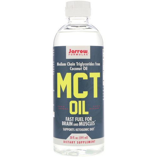 Jarrow Formulas, MCT Oil, 20 fl oz (591 ml) Review