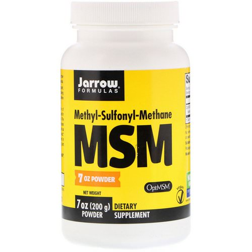 Jarrow Formulas, MSM, Powder, 7 oz (200 g) Review