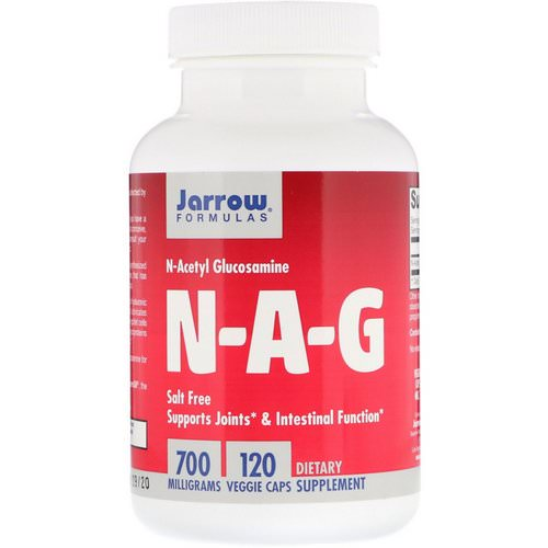 Jarrow Formulas, N-A-G, 700 mg, 120 Veggie Caps Review