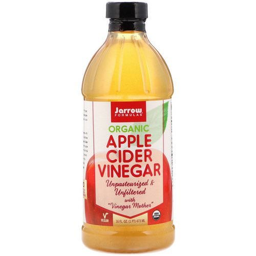 Jarrow Formulas, Organic Apple Cider Vinegar, 16 fl oz (473 ml) Review