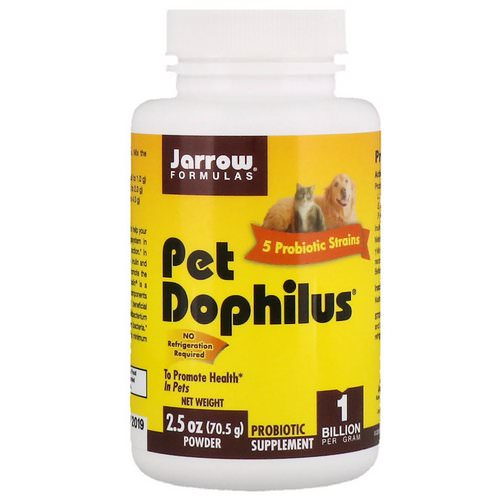 Jarrow Formulas, Pet Dophilus, 1 Billion, 2.5 oz (70.5 g) Powder Review