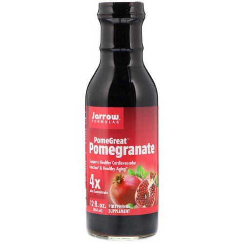 Jarrow Formulas, PomeGreat Pomegranate, 12 fl oz (360 ml) Review