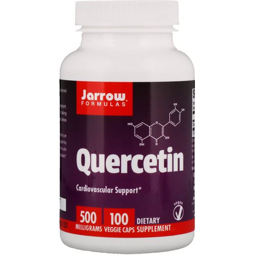 Jarrow Formulas, Quercetin, 500 mg, 100 Capsules Review