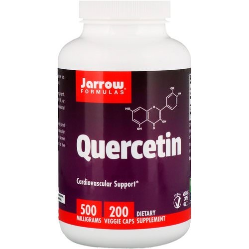 Jarrow Formulas, Quercetin, 500 mg, 200 Capsules Review