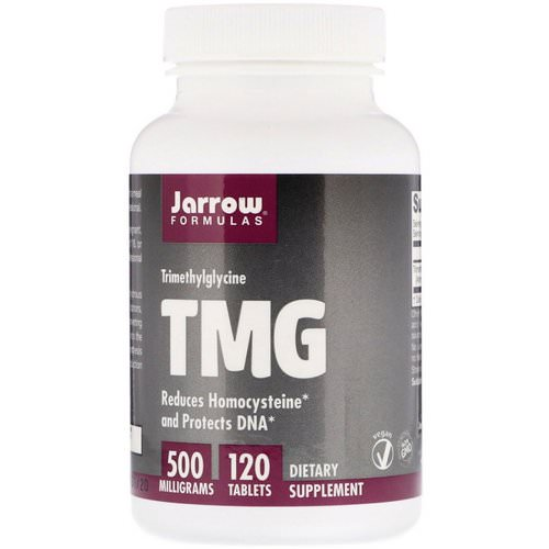 Jarrow Formulas, TMG, Trimethylglycine, 500 mg, 120 Tablets Review