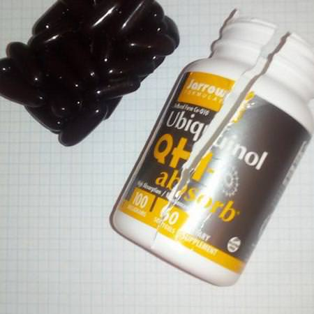 Jarrow Formulas Supplements Antioxidants Ubiquinol