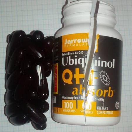 Supplements Antioxidants Ubiquinol CoQ10 Jarrow Formulas