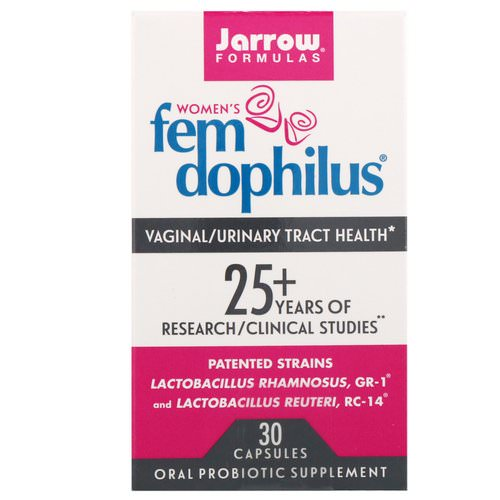 Jarrow Formulas, Women's Fem Dophilus, 30 Capsules (Ice) Review