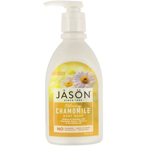 Jason Natural, Body Wash, Relaxing Chamomile, 30 fl oz (887 ml) Review