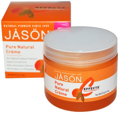 Jason Natural, C Effects, Creme, 2 oz (57 g) Review