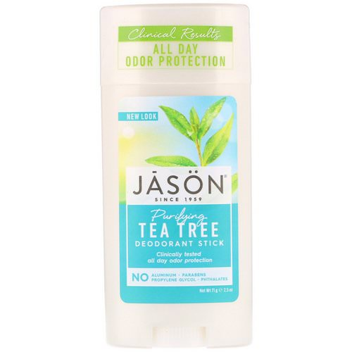 Jason Natural, Deodorant Stick, Purifying Tea Tree, 2.5 oz (71 g) Review