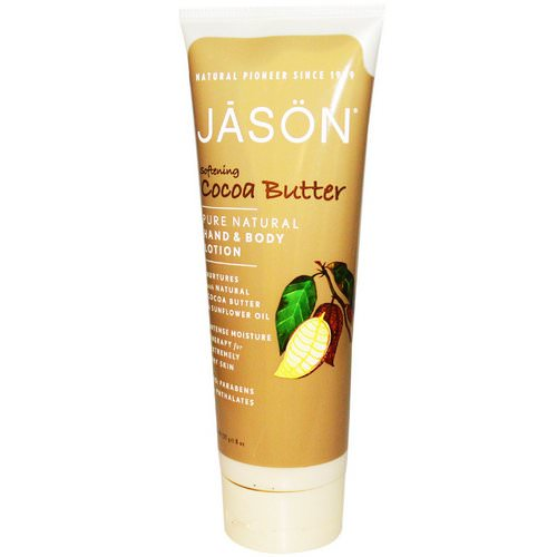 Jason Natural, Hand & Body Lotion, Softening Cocoa Butter, 8 oz (227 g) Review