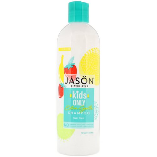 Jason Natural, Kids Only, Extra Gentle Shampoo, 17.5 fl oz (517 ml) Review