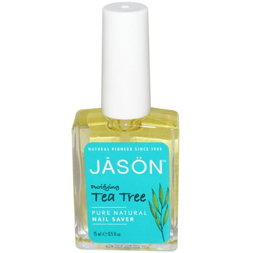 Jason Natural, Nail Saver, Tea Tree, 0.5 fl oz (15 ml) Review