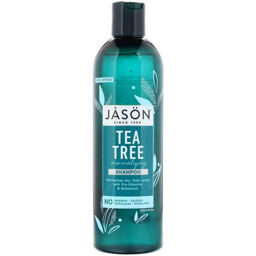 Jason Natural, Normalizing Tea Tree Shampoo, 17.5 fl oz (517 ml) Review