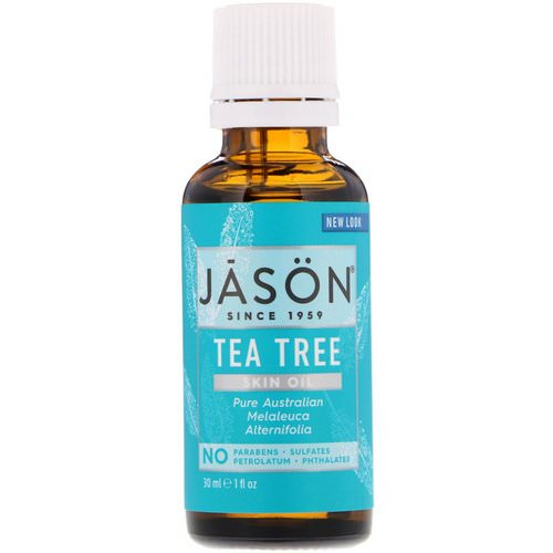 Jason Natural, Skin Oil, Tea Tree, 1 fl oz (30 ml) Review