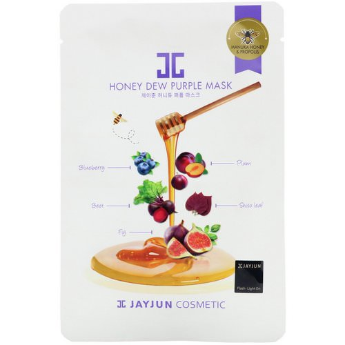 Jayjun Cosmetic, Honey Dew Purple Mask, 1 Mask, 25 ml Review