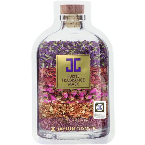 Jayjun Cosmetic, Purple Fragrance Mask, 1 Mask, 0.84 fl oz (25 ml) Review