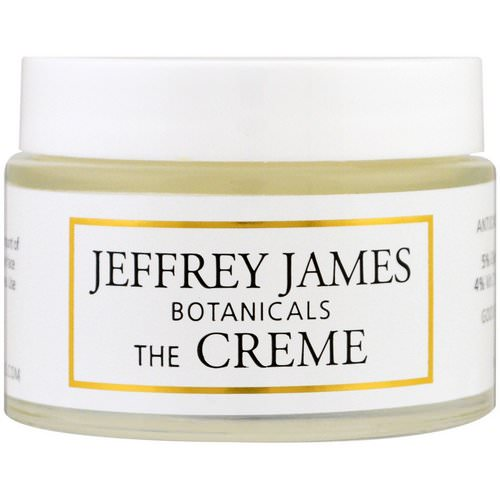 Jeffrey James Botanicals, The Creme, All Day & All Night, 2.0 oz (59 ml) Review