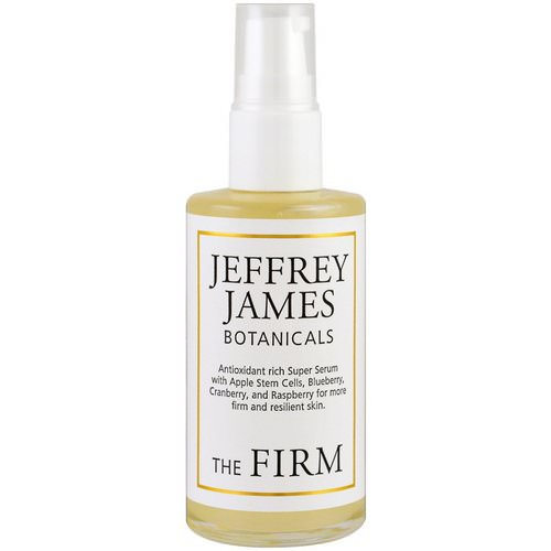 Jeffrey James Botanicals, The Firm Instant Firming Facelift, 2.0 oz (59 ml) Review