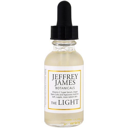 Jeffrey James Botanicals, The Light Age Defying C Serum, 1.0 oz (29 ml) Review