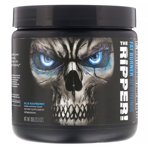 JNX Sports, The Ripper, Fat Burner, Blue Raspberry, 5.3 oz (150 g) Review
