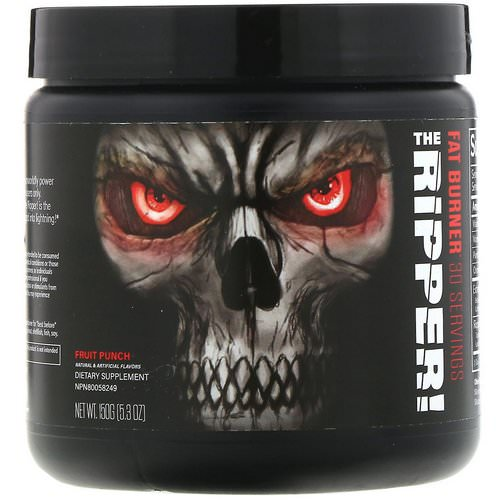 JNX Sports, The Ripper, Fat Burner, Fruit Punch, 5.3 oz (150 g) Review