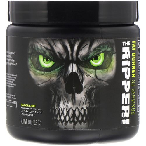 JNX Sports, The Ripper, Fat Burner, Razor Lime, 5.3 oz (150 g) Review