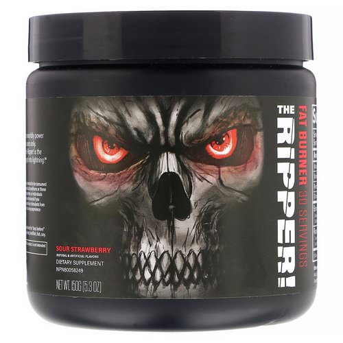JNX Sports, The Ripper, Fat Burner, Sour Strawberry, 5.3 oz (150 g) Review