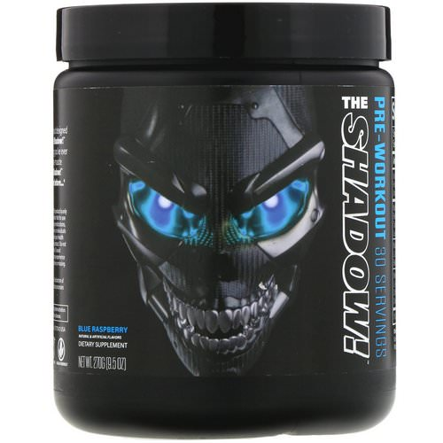 JNX Sports, The Shadow, Pre-Workout, Blue Raspberry, 9.5 oz (270 g) Review