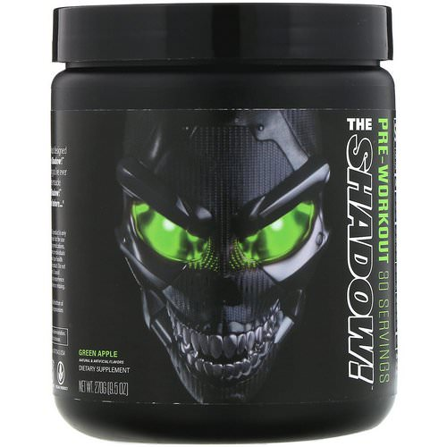 JNX Sports, The Shadow, Pre-Workout, Green Apple, 9.5 oz (270 g) Review
