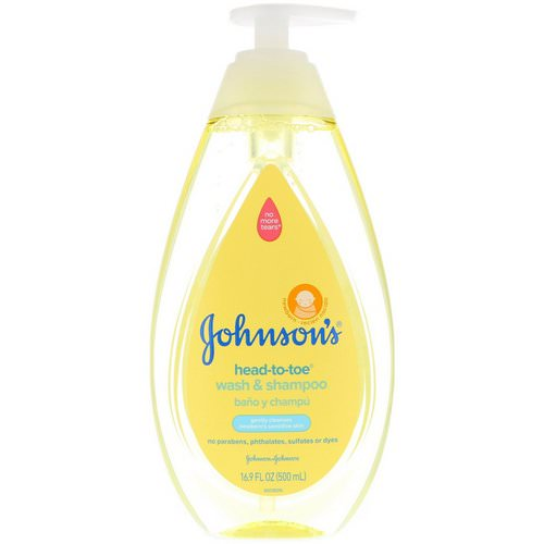 Johnson & Johnson, Head-To-Toe, Wash & Shampoo, 16.9 fl oz (500 ml) Review
