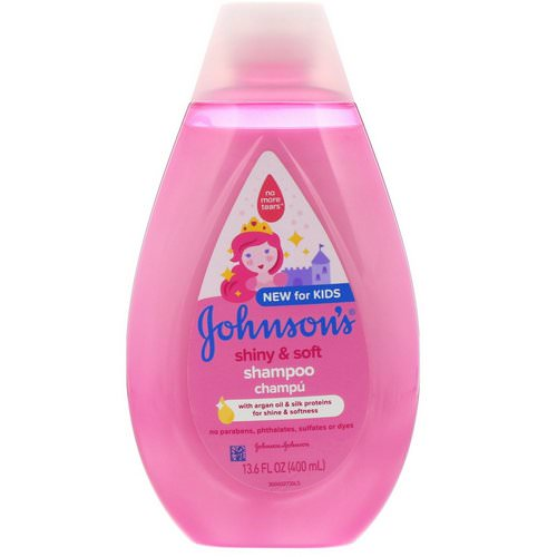 Johnson & Johnson, Kids, Shiny & Soft, Shampoo, 13.6 fl oz (400 ml) Review