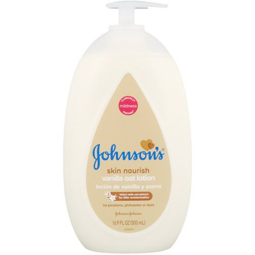 Johnson & Johnson, Skin Nourish, Vanilla Oat Lotion, 16.9 fl oz (500 ml) Review