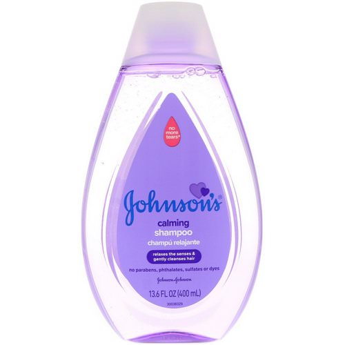 Johnson & Johnson, Calming Shampoo, 13.6 fl oz (400 ml) Review