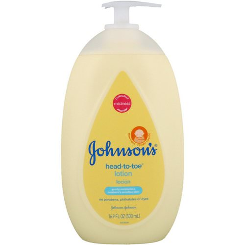 Johnson & Johnson, Head-To-Toe, Lotion, 16.9 fl oz (500 ml) Review