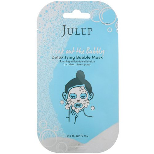 Julep, Break Out the Bubbly, Detoxifying Bubble Mask, 2 Masks Review