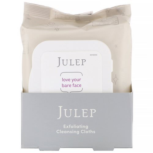 Julep, Love Your Bare Face, Exfoliating Cleansing Cloths, 30 Towelettes Review